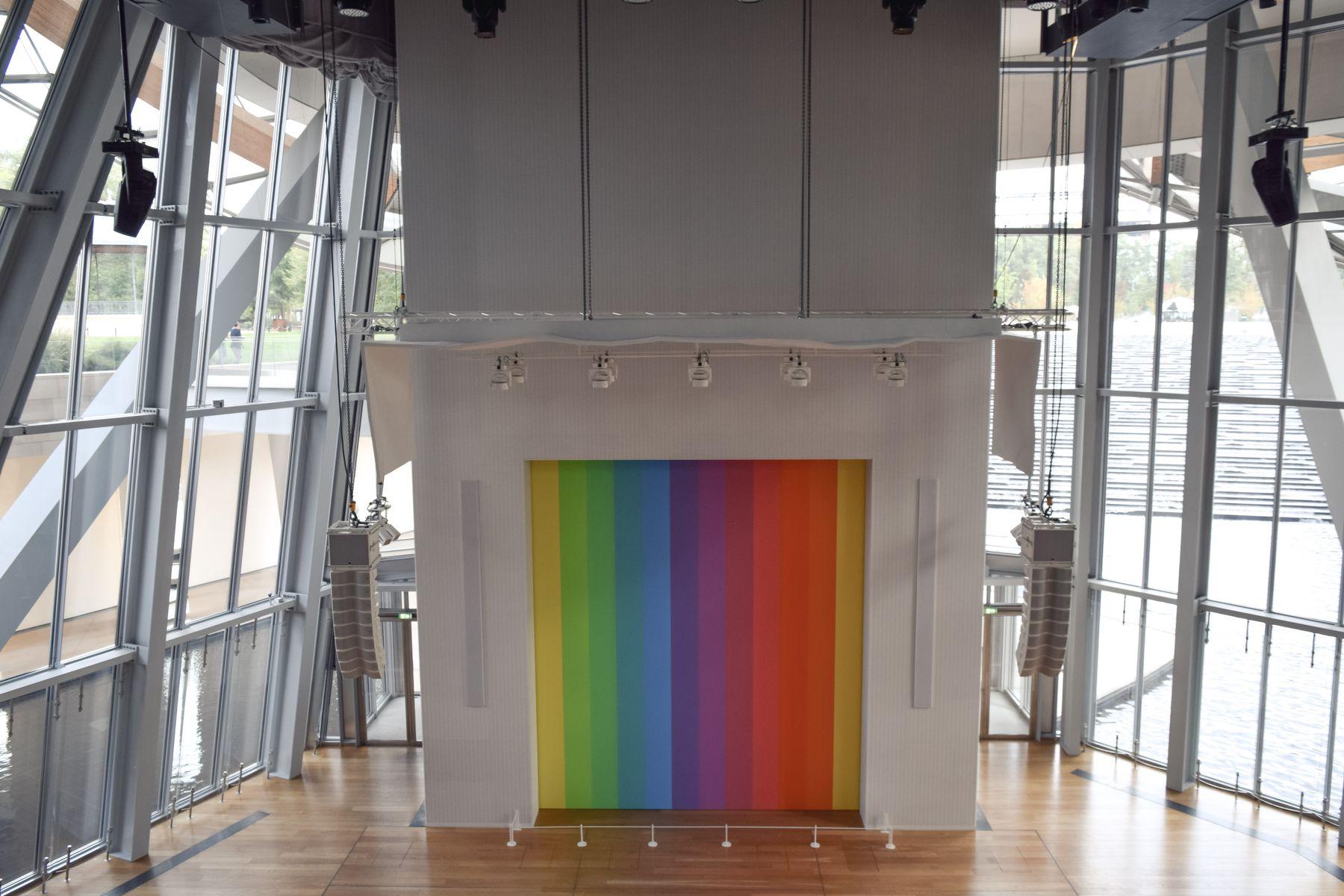 Ellsworth Kelly, Fondation Louis Vuitton, Paris, France