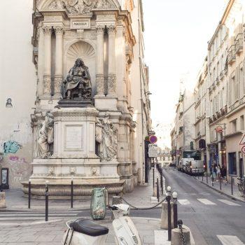 Fontaine Molière, Paris