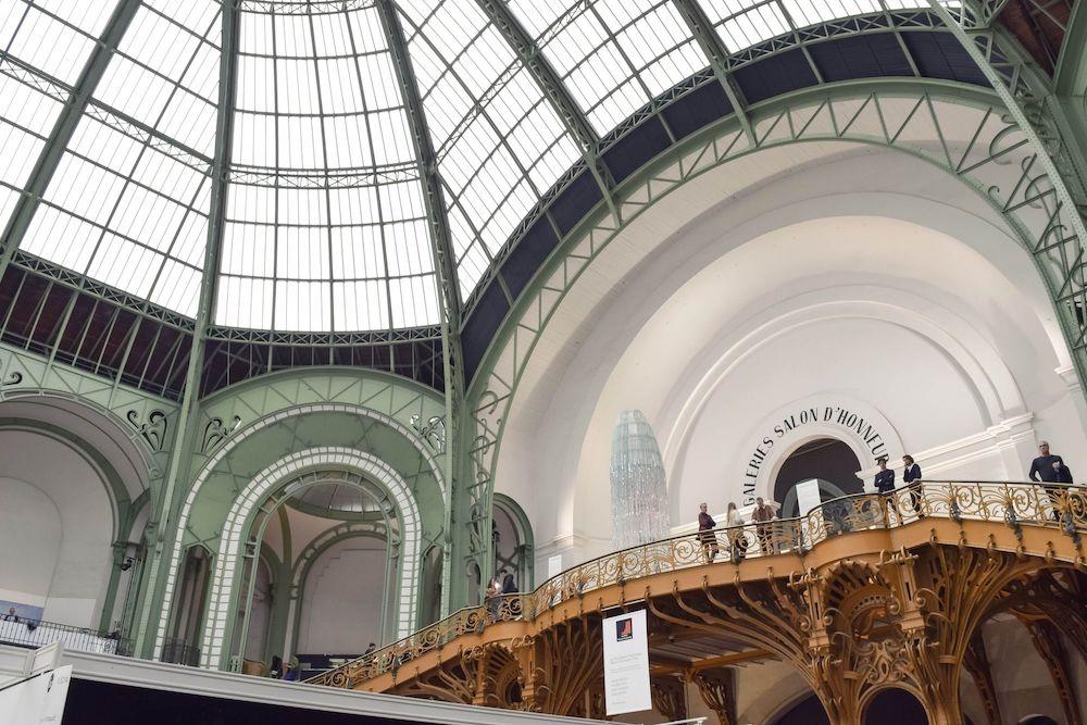 Art Nouveau Balcony at the Grand Palais, Paris