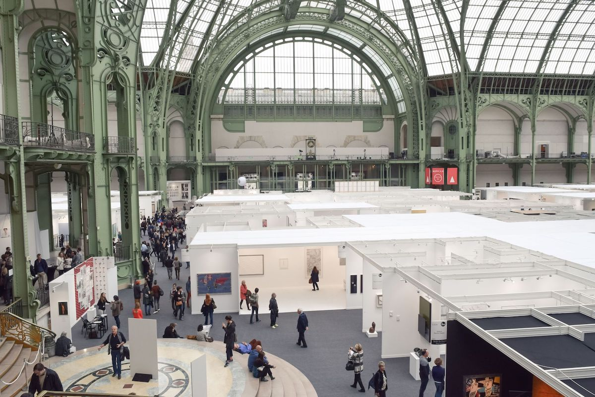Art Fair at the Grand Palais, Paris