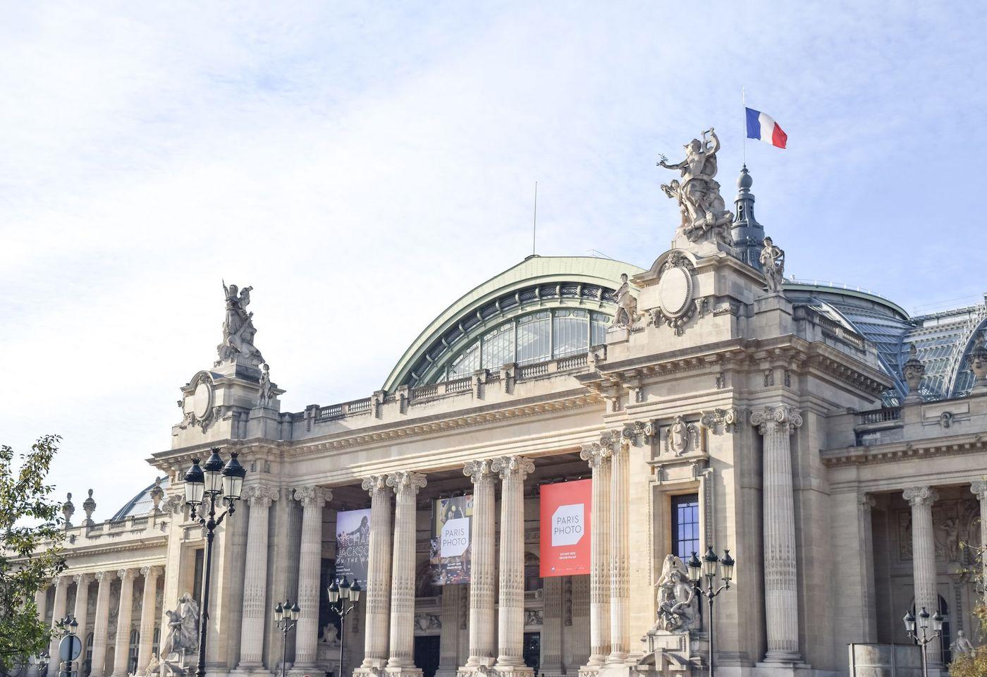 Entrance Grand Palais, Paris