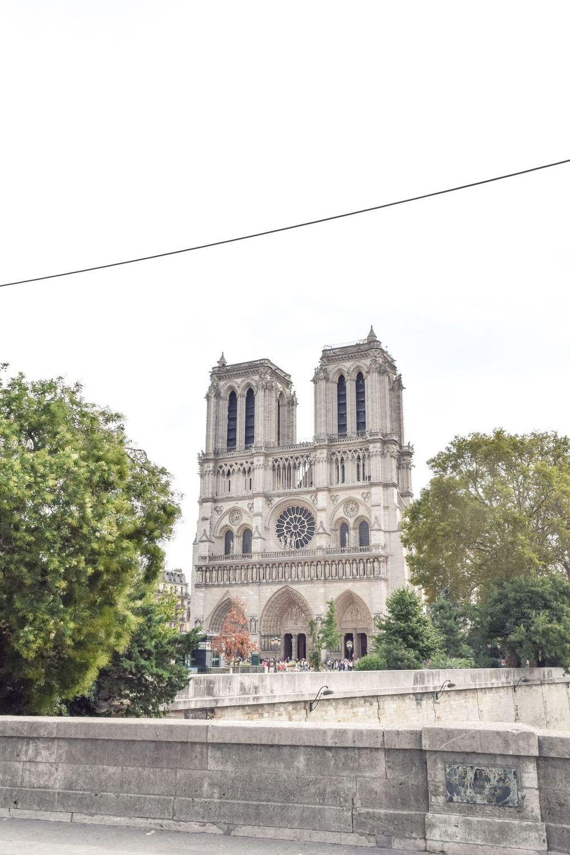 Notre Dame Cathedral, Île de la Cité, Paris, France