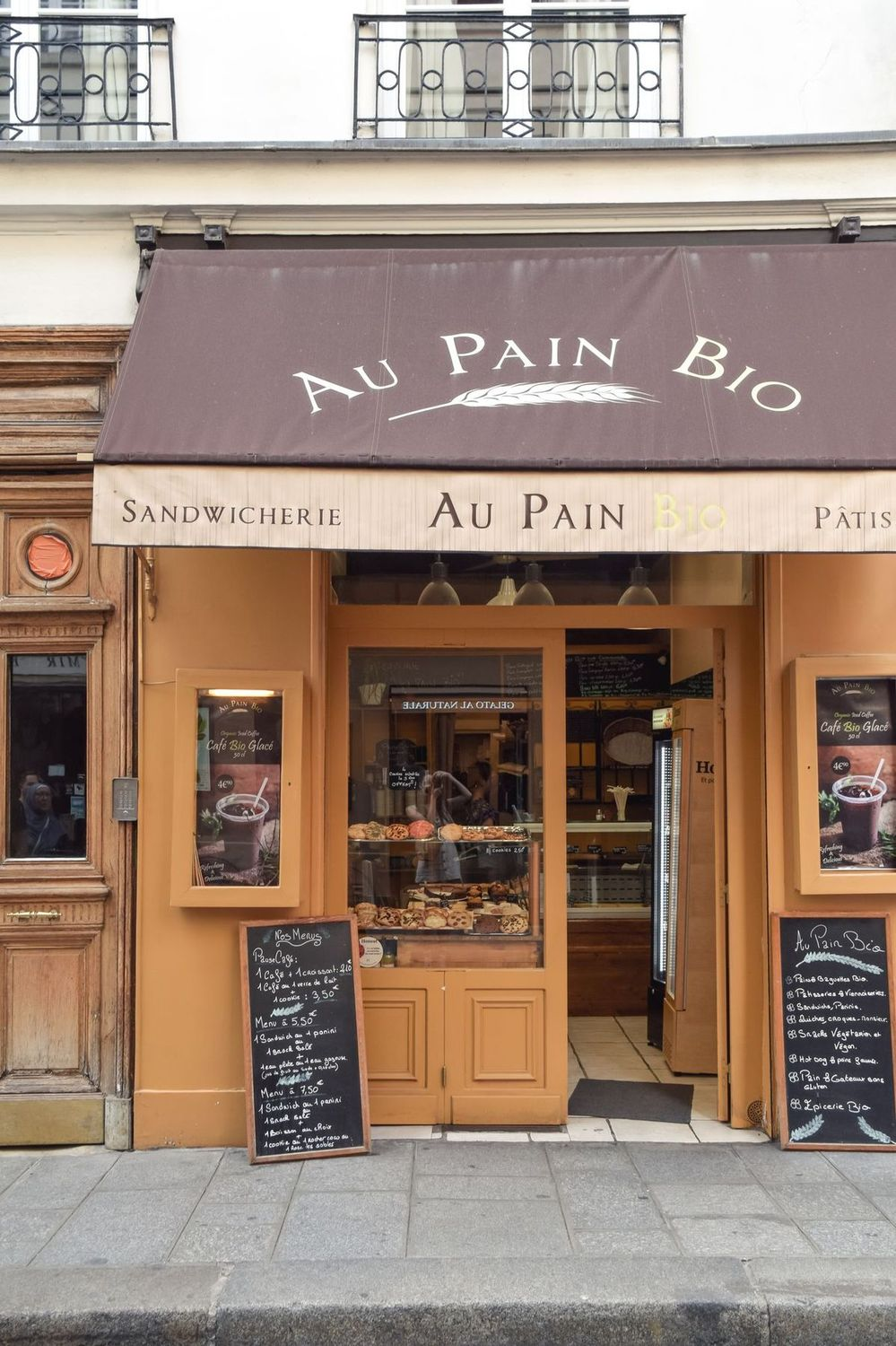 Au Pain Bio, Île Saint-Louis, Paris