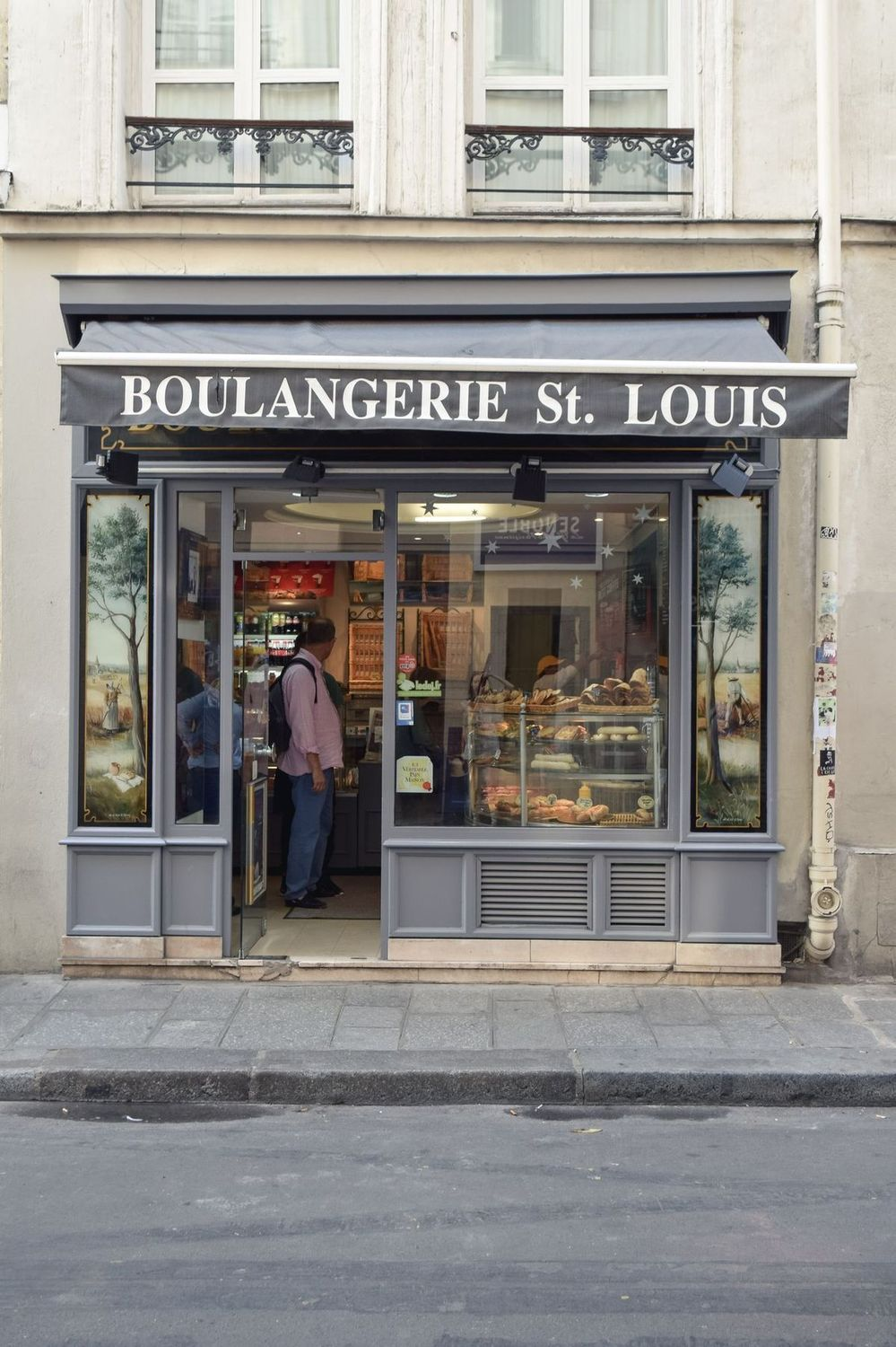 Boulangerie St. Louis, Île Saint-Louis, Paris