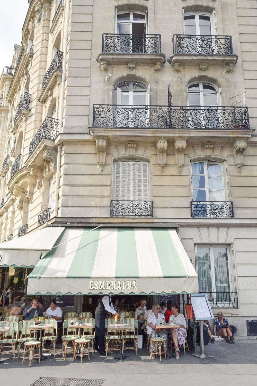 Esmerelda, Île de la Cité, Paris, France