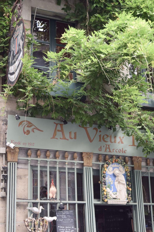 Au Vieux Paris d'Arcole Restaurant, Île de la Cité
