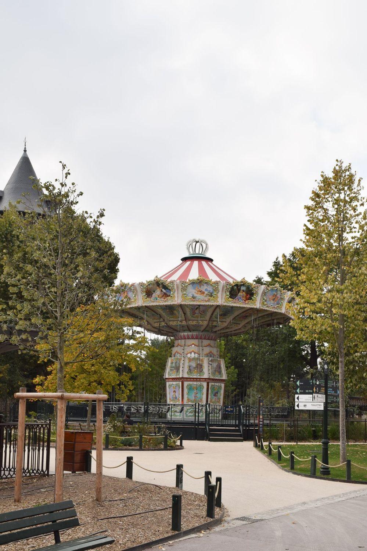 Carousel in Jardin D'Acclimatation, Paris