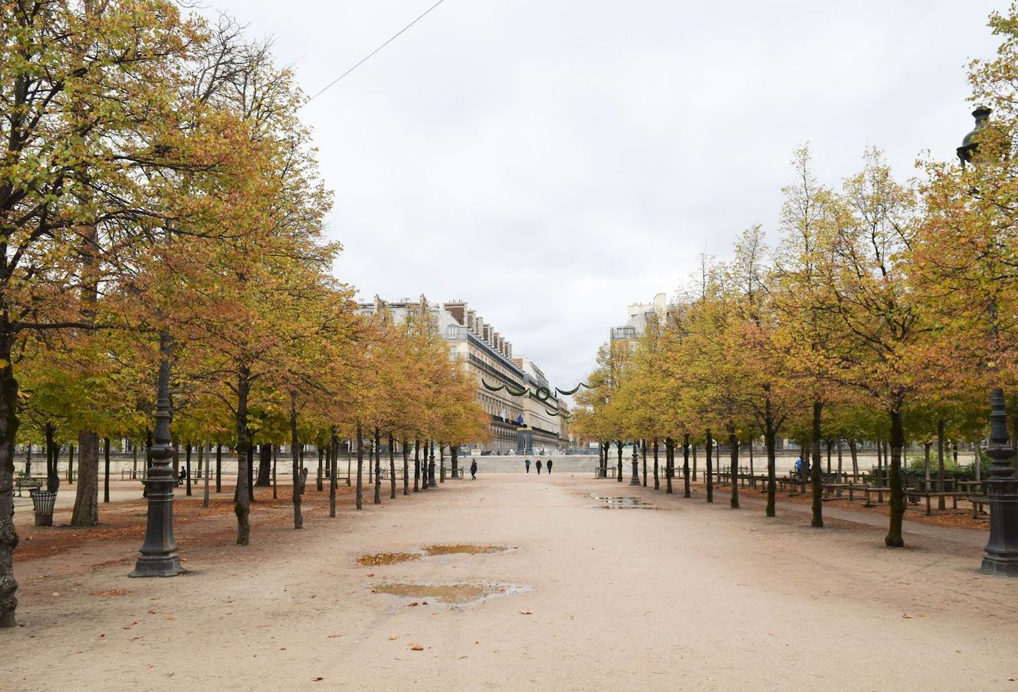 Jardin des Tuileries – Paris in Fall