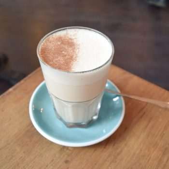 Chai Tea Latte at KB Cafeshop, Paris
