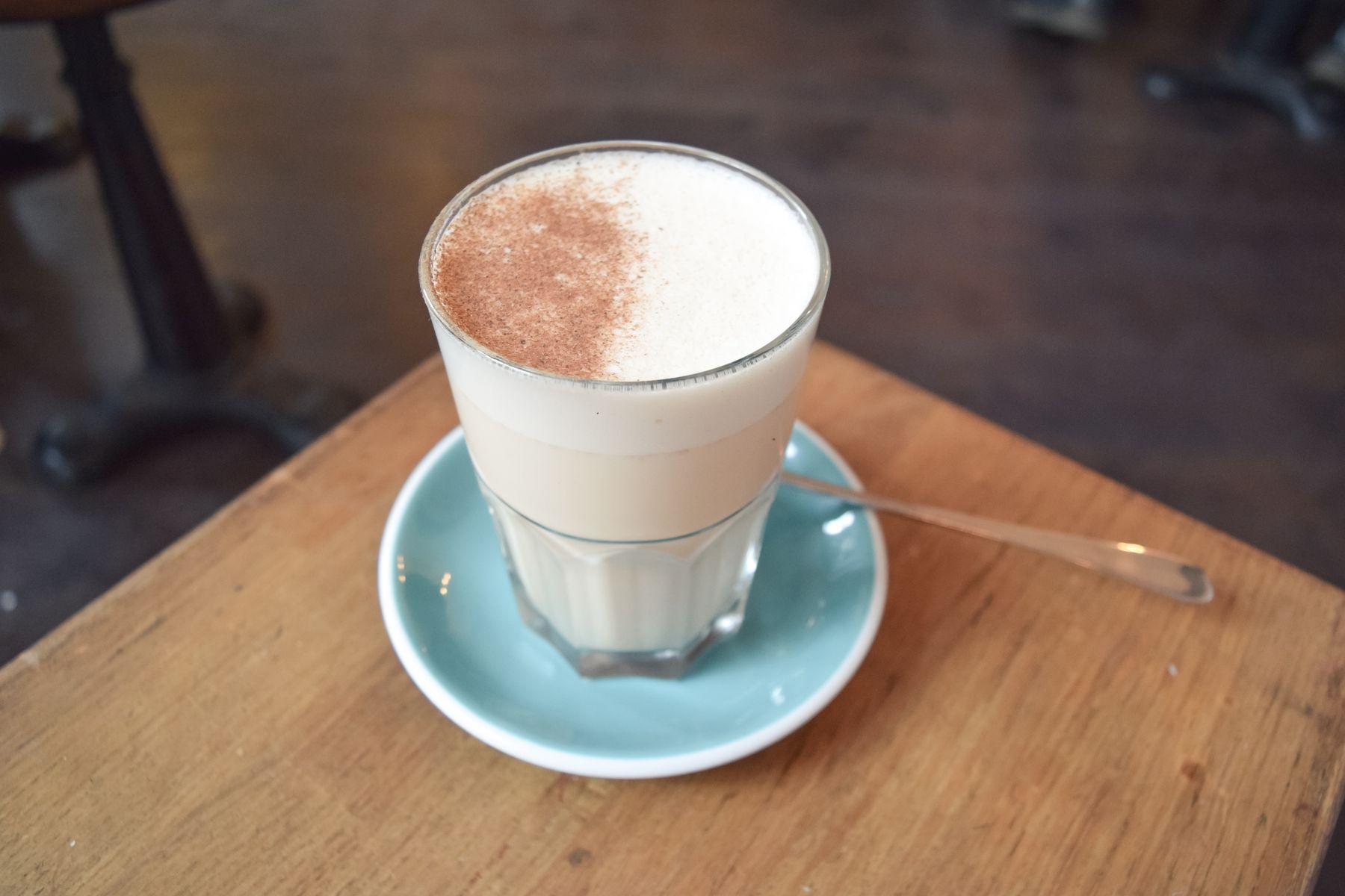 Chai Tea Latte at KB CaféShop, Paris