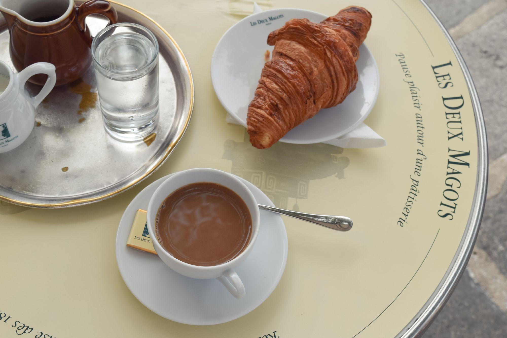 Coffee at Les Deux Magots, Paris