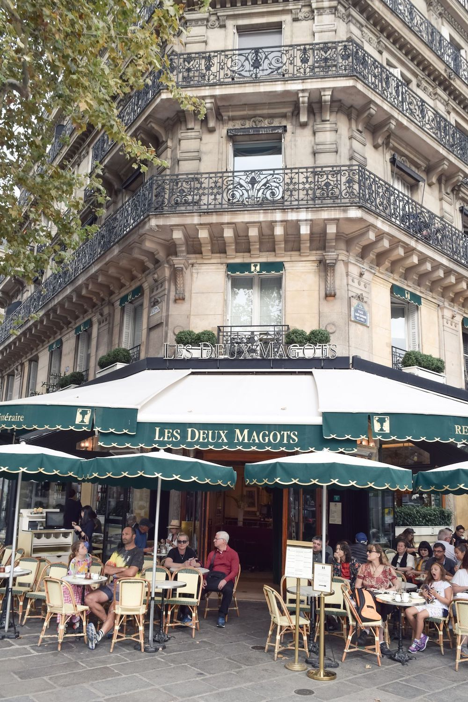 Coffee at Les Deux Magots, Paris 6th