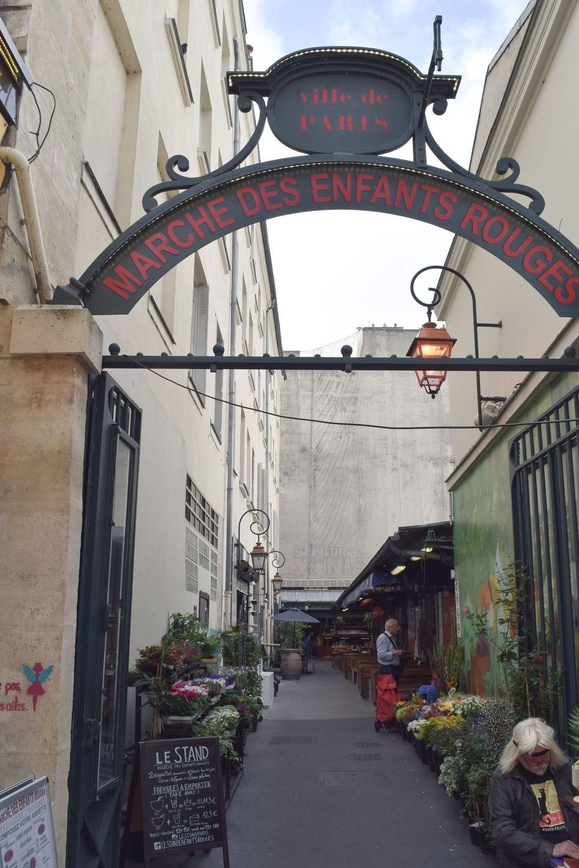 Marché des Enfants Rouges, Paris