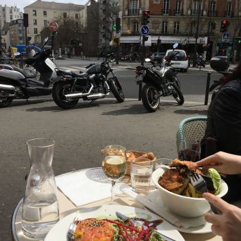 Lunch at Pause Café, Paris