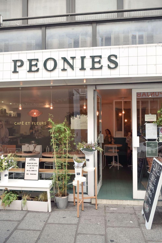 Peonies Paris Storefront