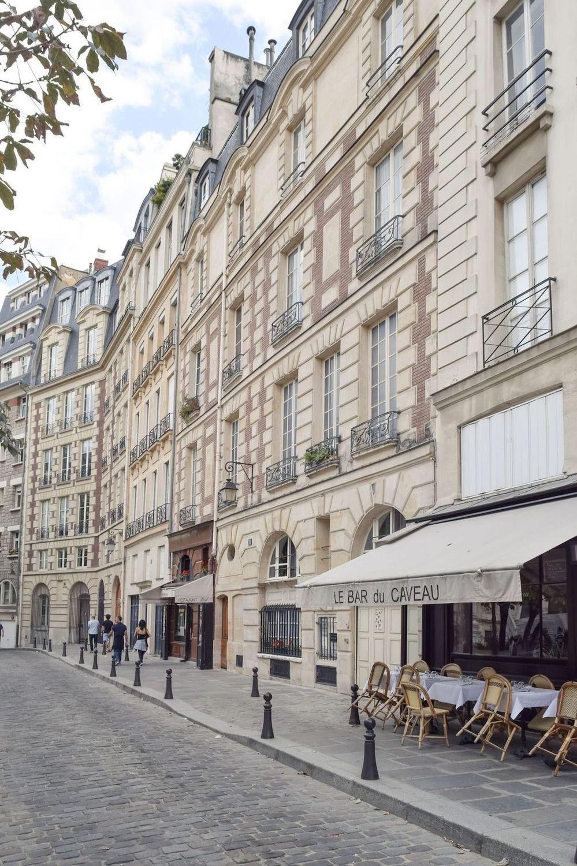 Place Dauphine, Paris, France