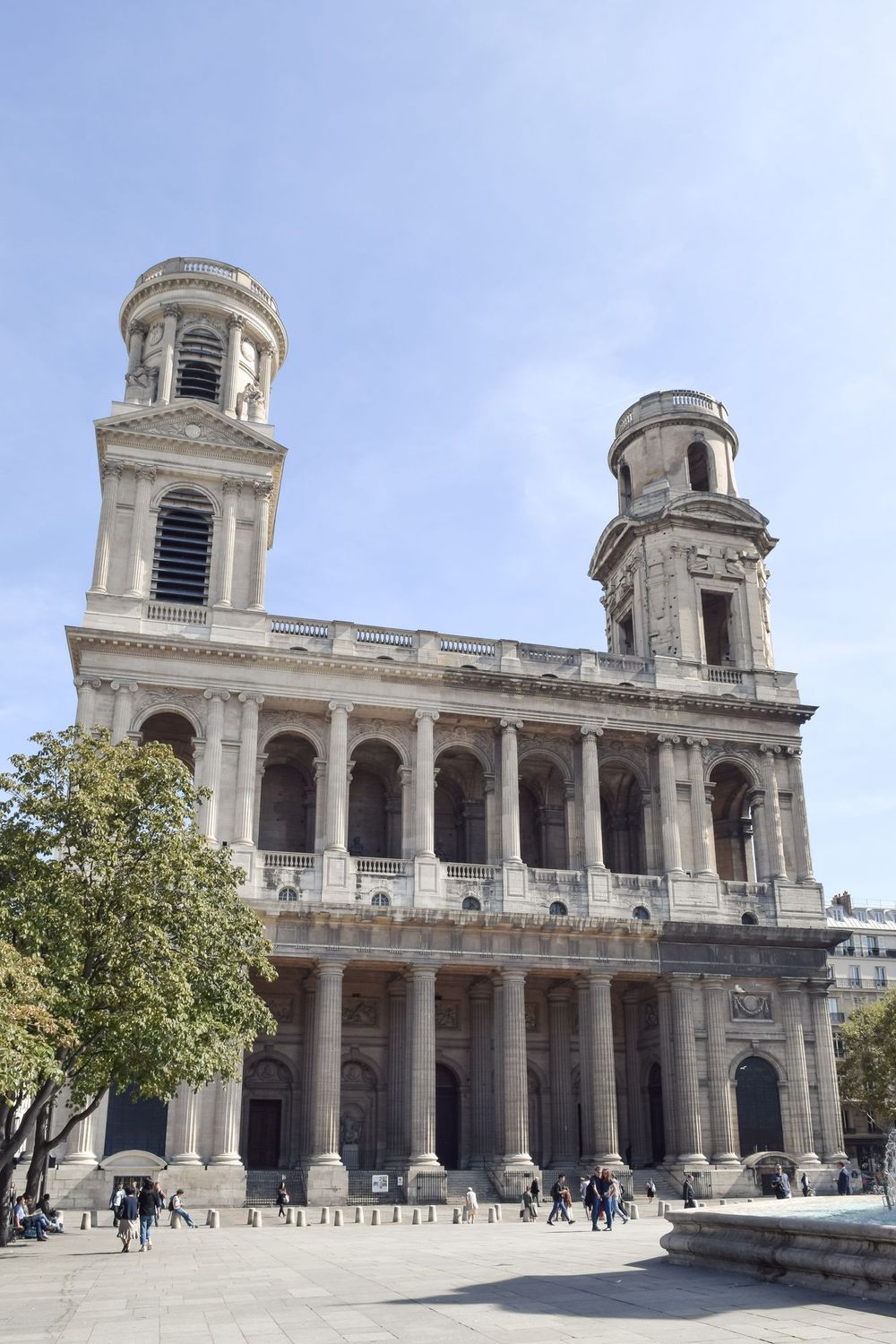 Place Saint Sulpice, Paris