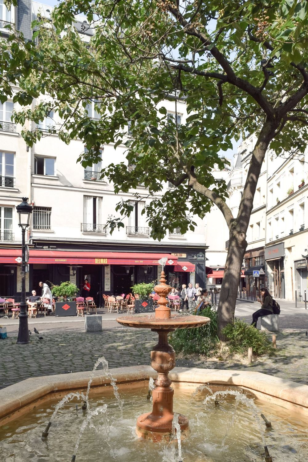 Place De La Contrescarpe, Latin Quarter, Paris, France