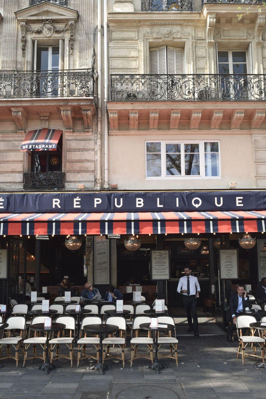 Café République in Place de la République, Paris