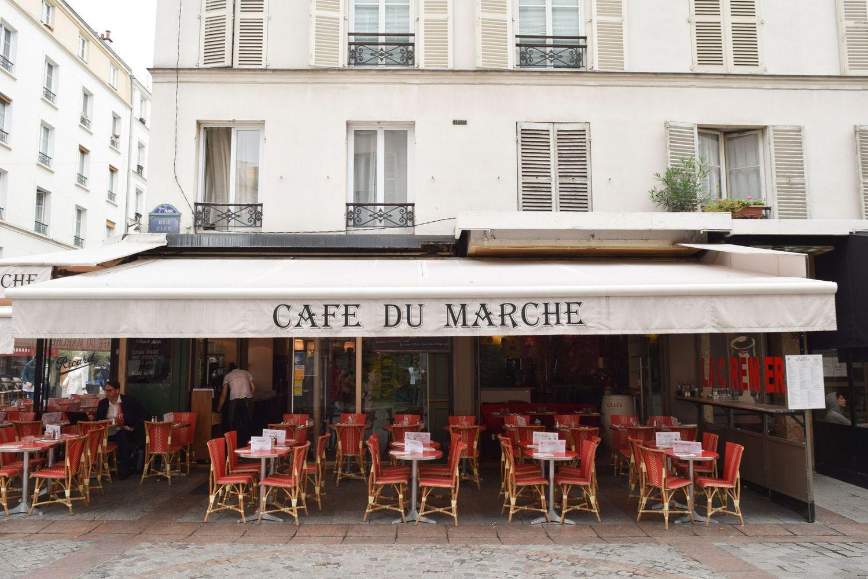 Café du Marché, Rue Cler, Paris