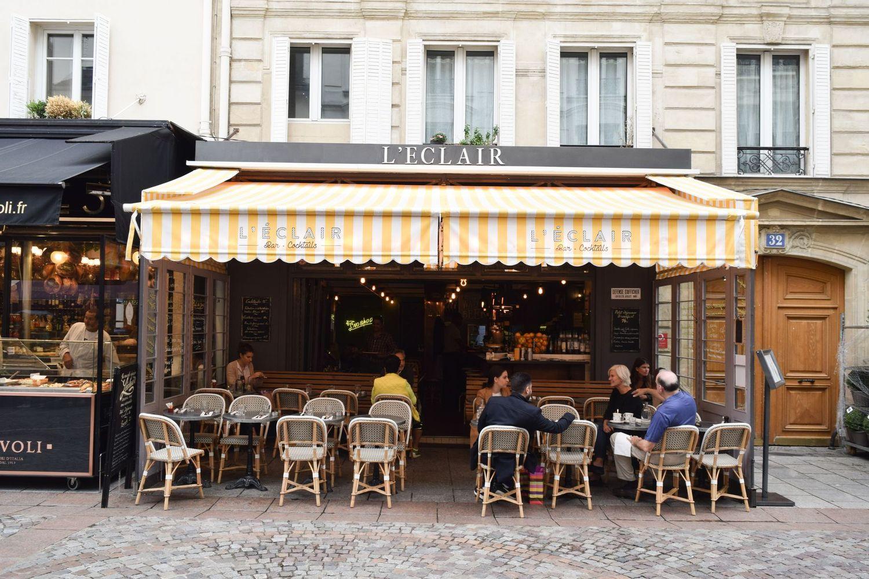 L'Eclair, Rue Cler, Paris