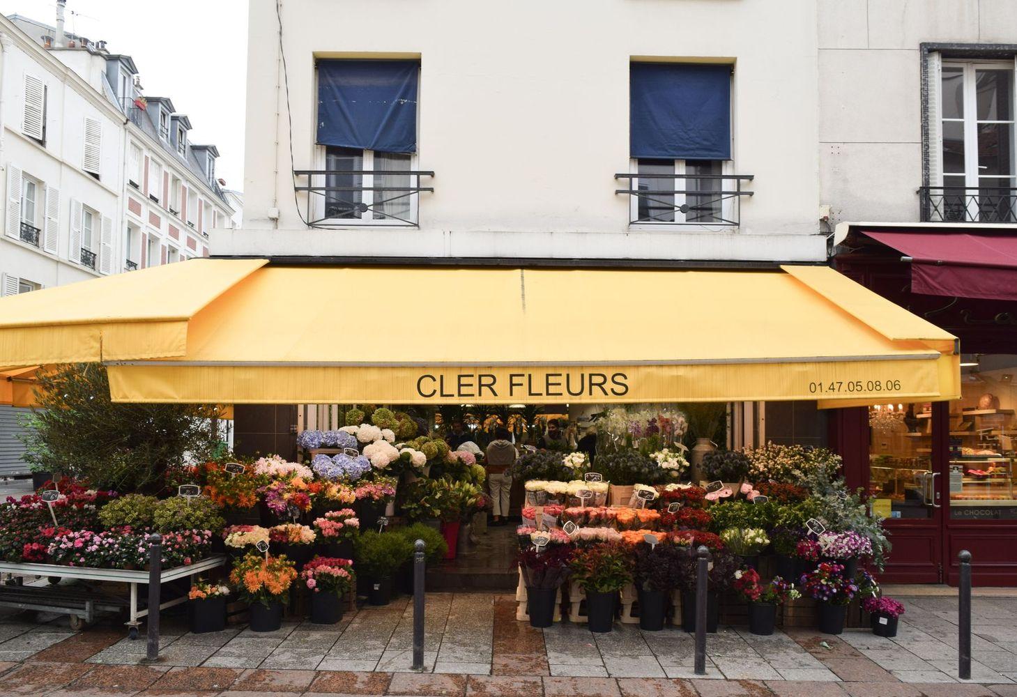 Cler Fleurs, Rue Cler, Paris