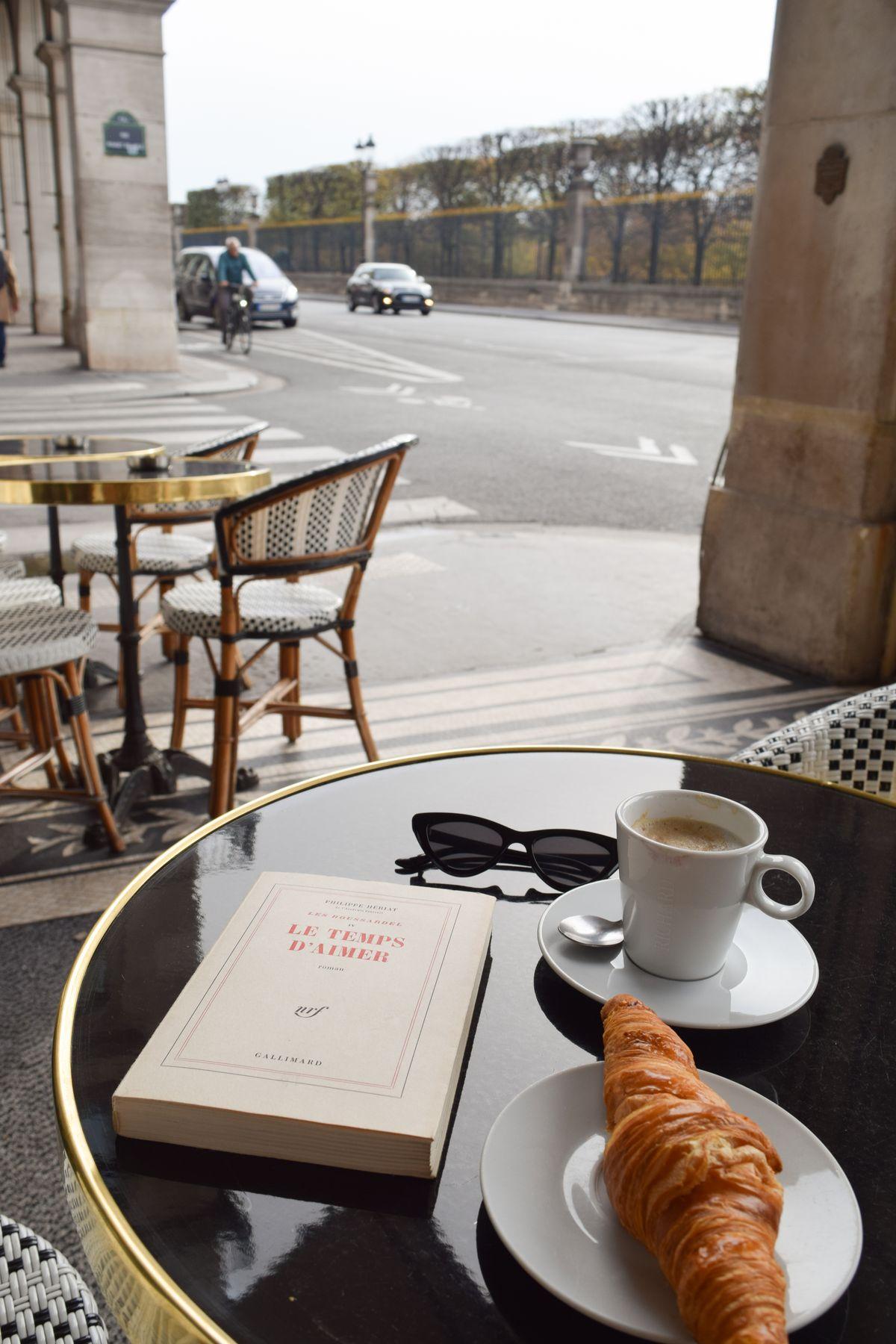 L'Impérial Café on Rue De Rivoli, Paris, France