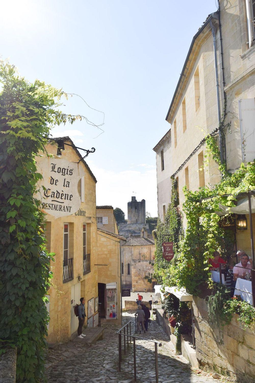 Rue Du Tertre De La Tente, Saint Emilion, France