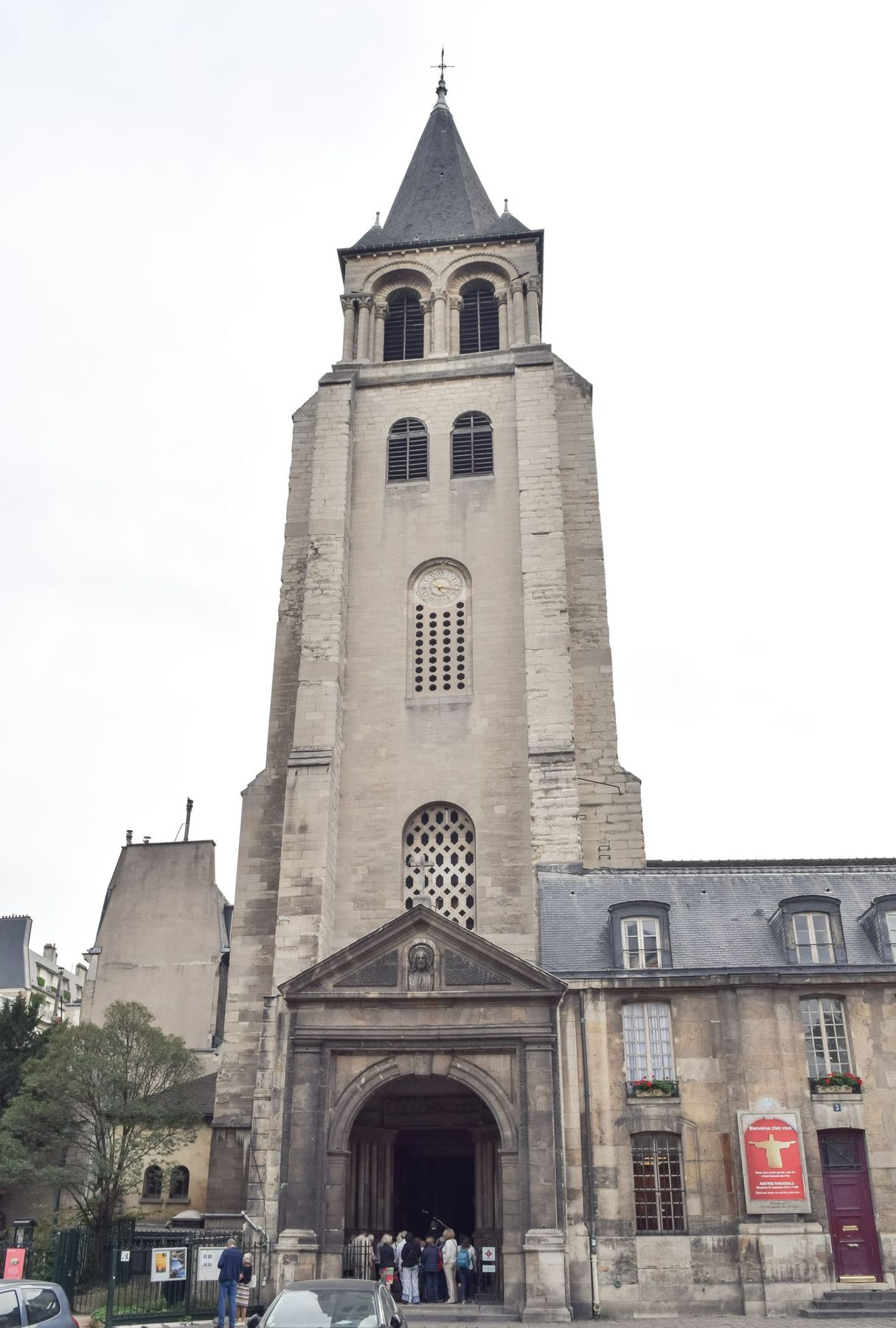 Saint-Germain-des-Près Church, Paris