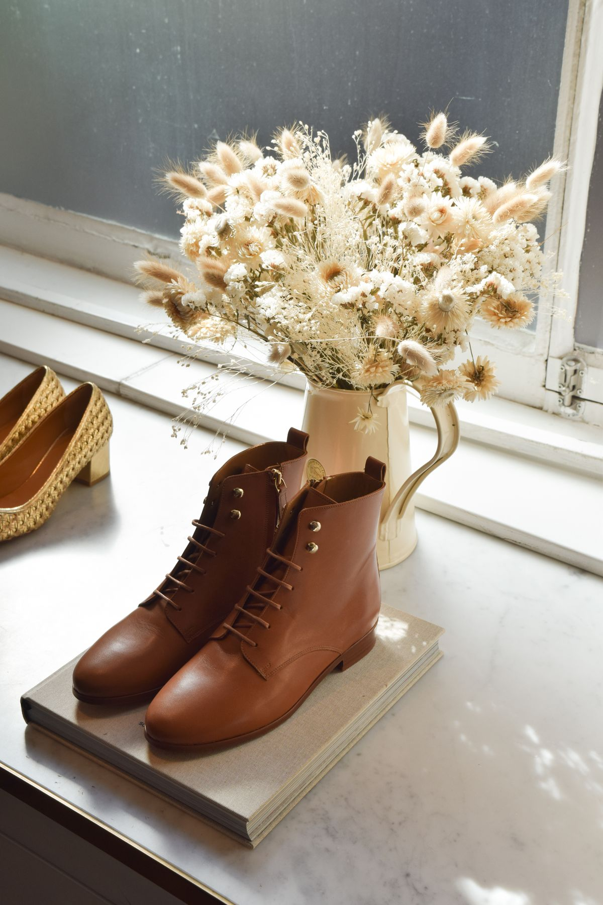 Sézane Fall Collection Leather Boots