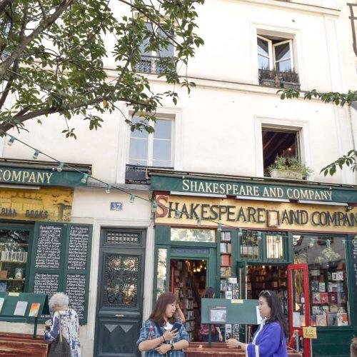 Shakespeare and Company Bookstore & Café, Paris
