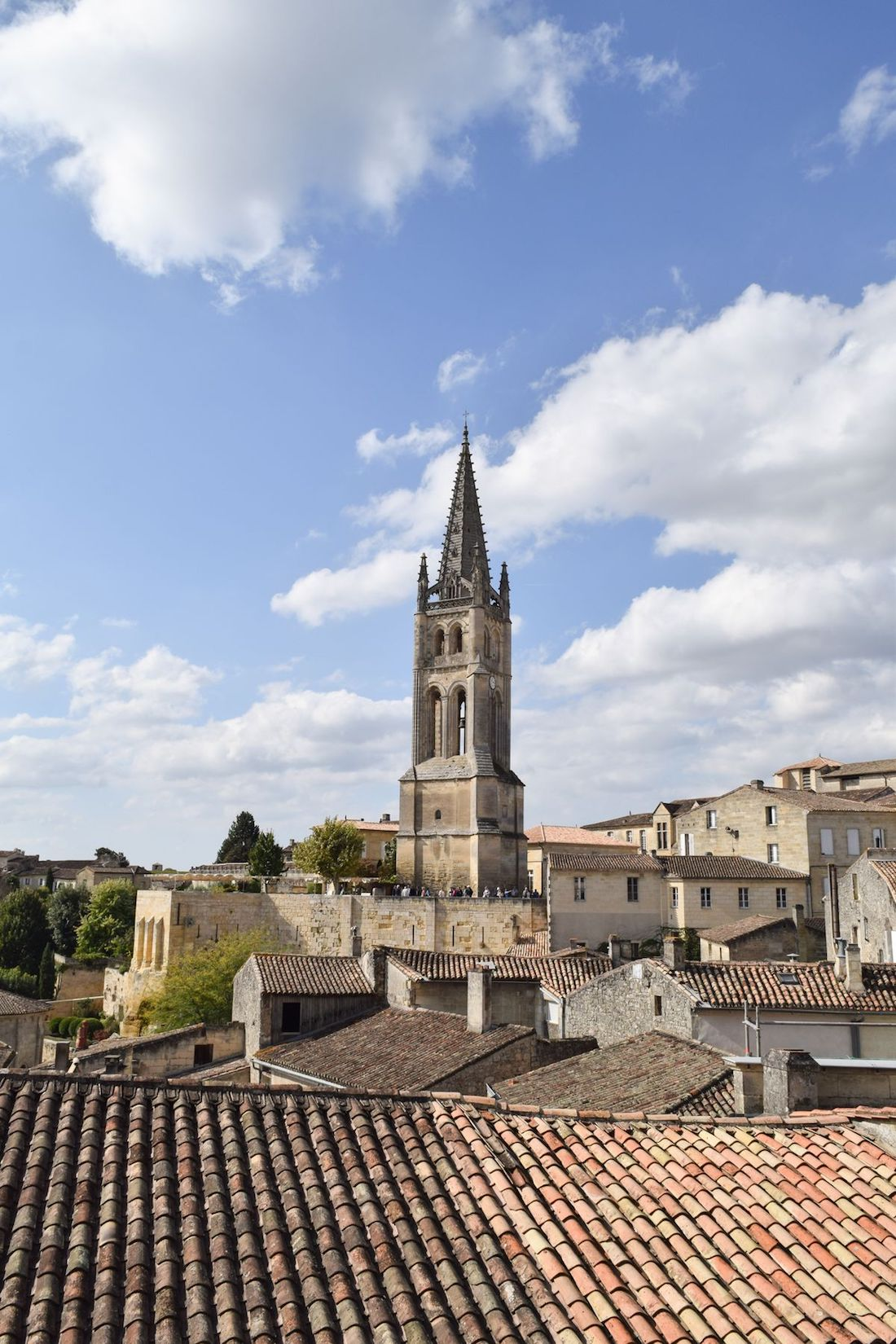 View From Rue Guadet, Saint-Émilion, France