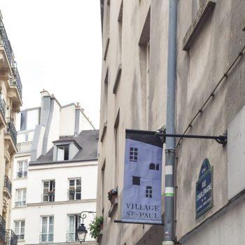 Village Saint Paul, Marais, Paris, France