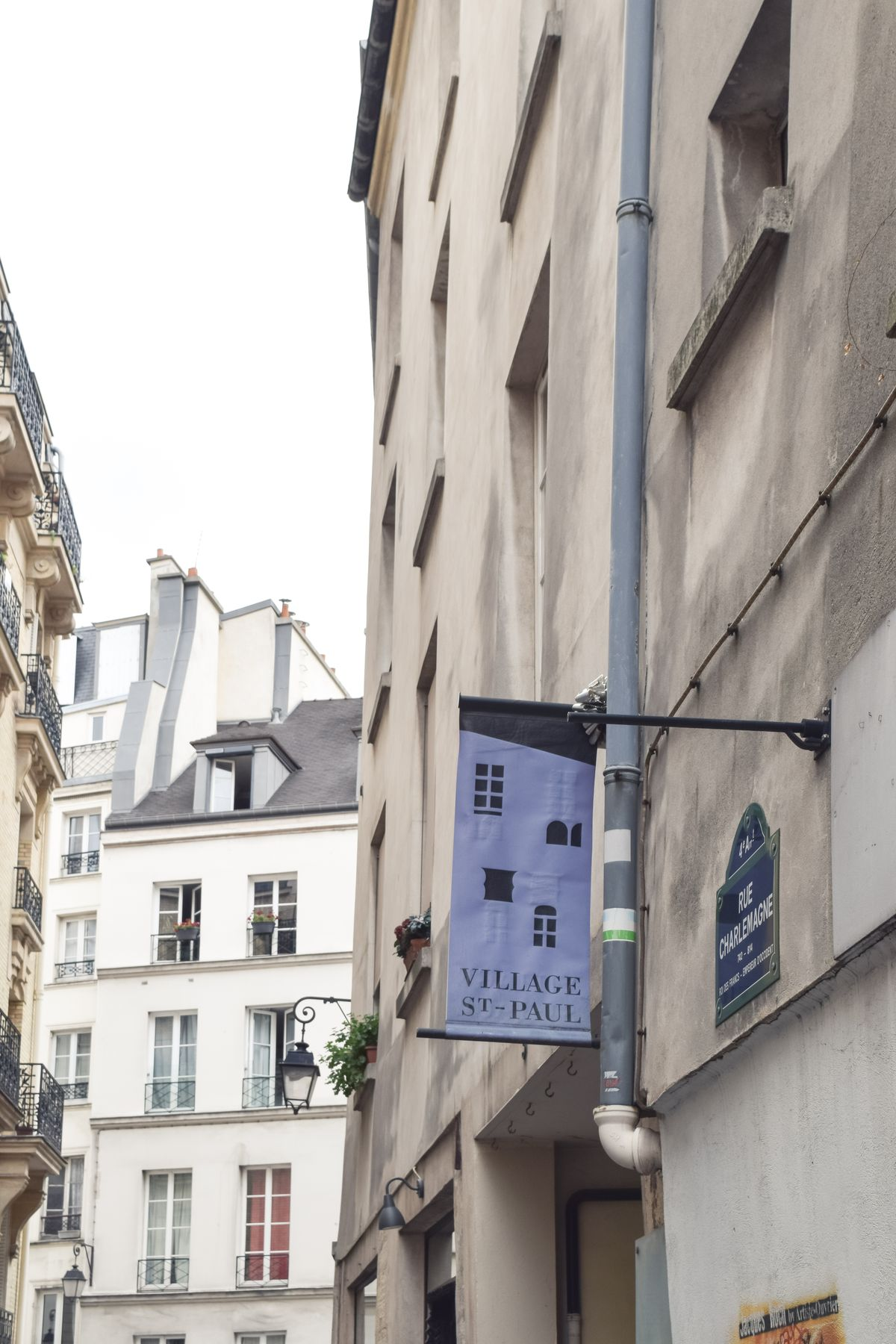 Village Saint Paul, Le Marais, Paris, France
