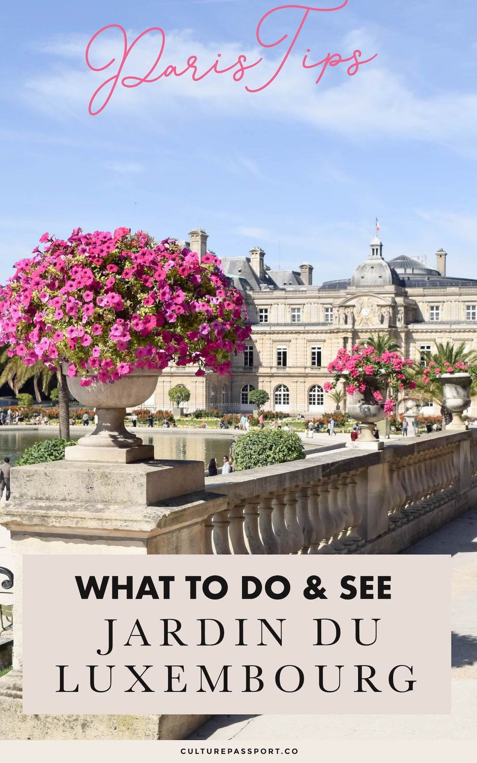 What To Do & See in Jardin Du Luxembourg Paris #Paris #ParisTips #ParisGuide