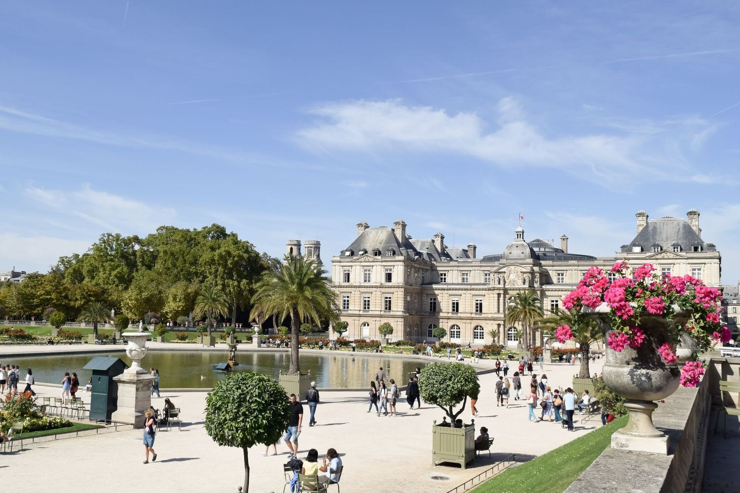 Paris in Spring – Jardin Du Luxembourg, Paris