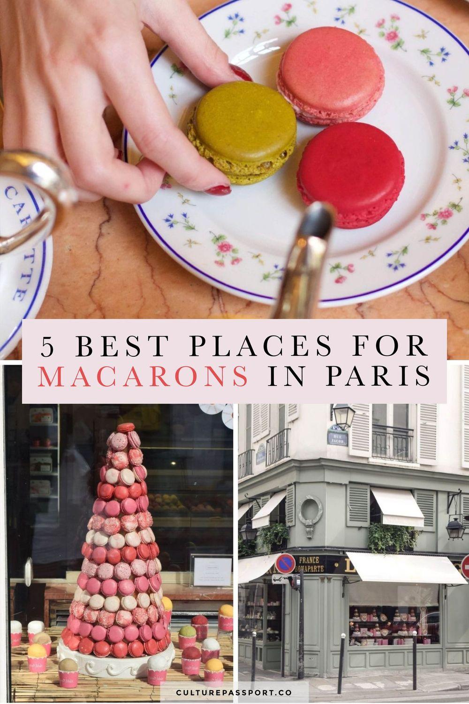 5 Best Places For Macarons In Paris #macarons #paristips #paristravel #parisguide