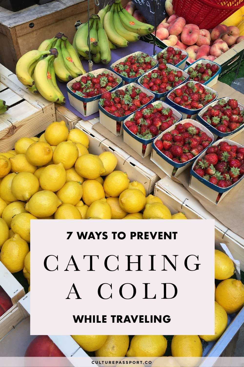 Prevent Catching A Cold While Traveling