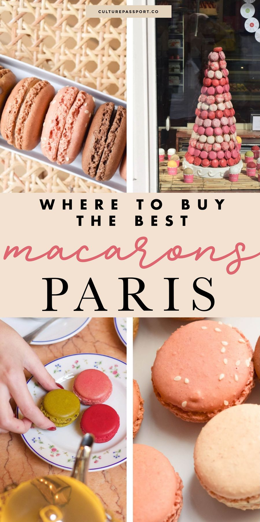 Where To Buy The Best Macarons In Paris! #macarons #paristips #paristravel #parisguide