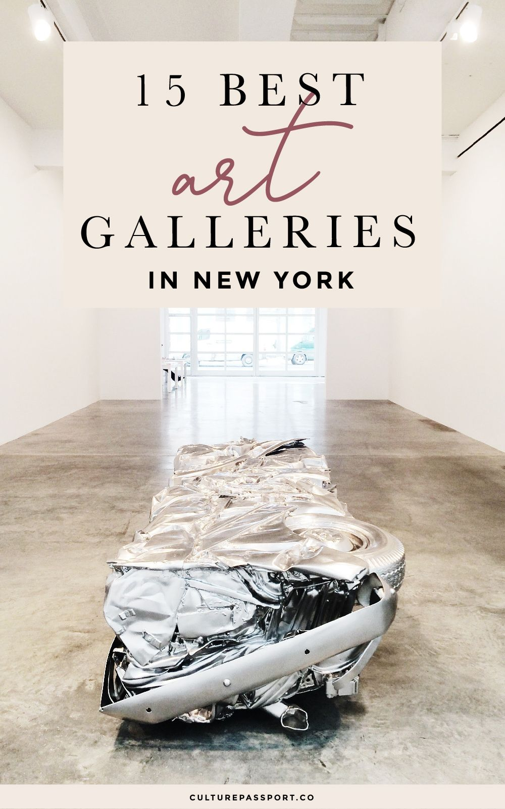 15 Best Contemporary Art Galleries In New York