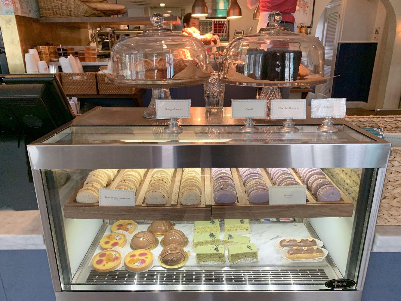 Pastries at Elizabeth Street Cafe, Austin