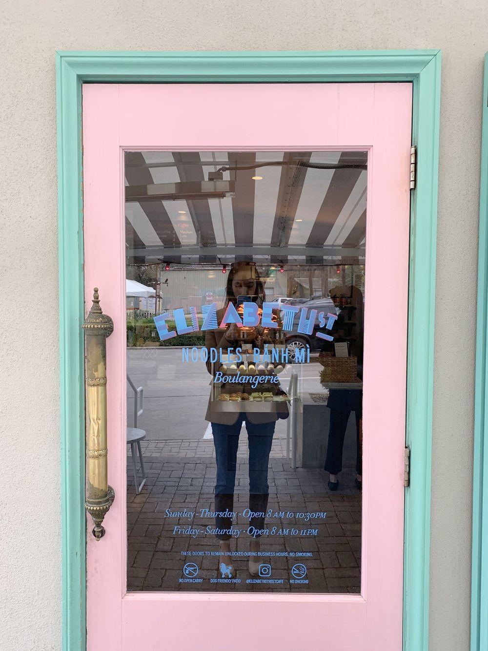 Elizabeth Street Cafe Entrance Door