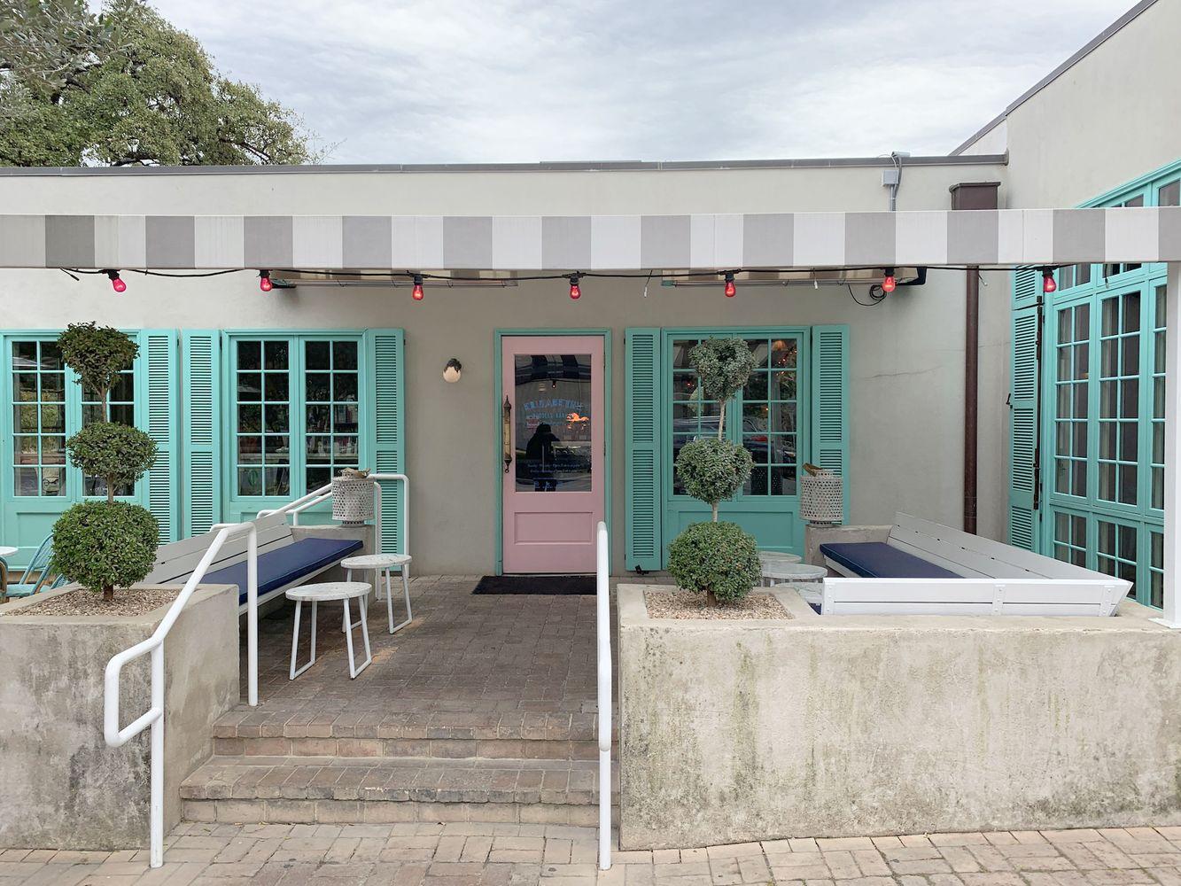 Elizabeth Street Cafe Front Building