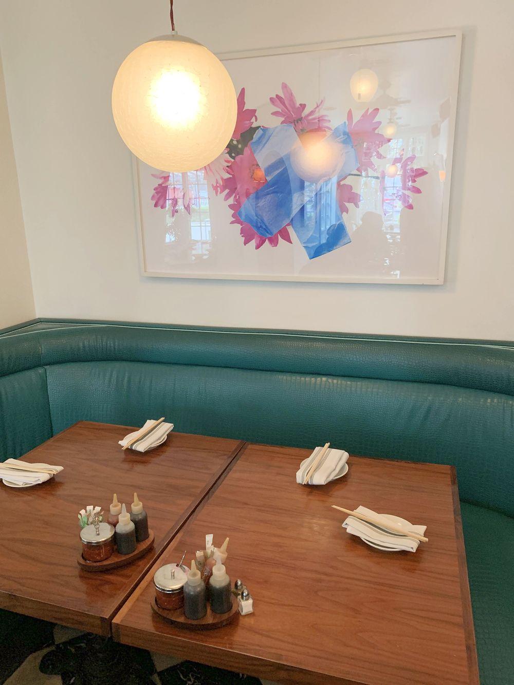 Elizabeth Street Cafe Booth, Austin, TX