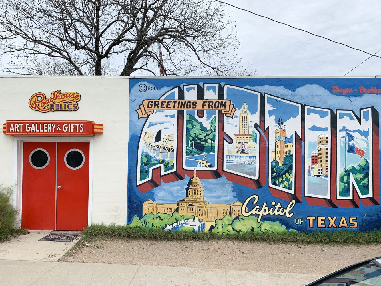 Greetings From Austin South Congress Austin Murals