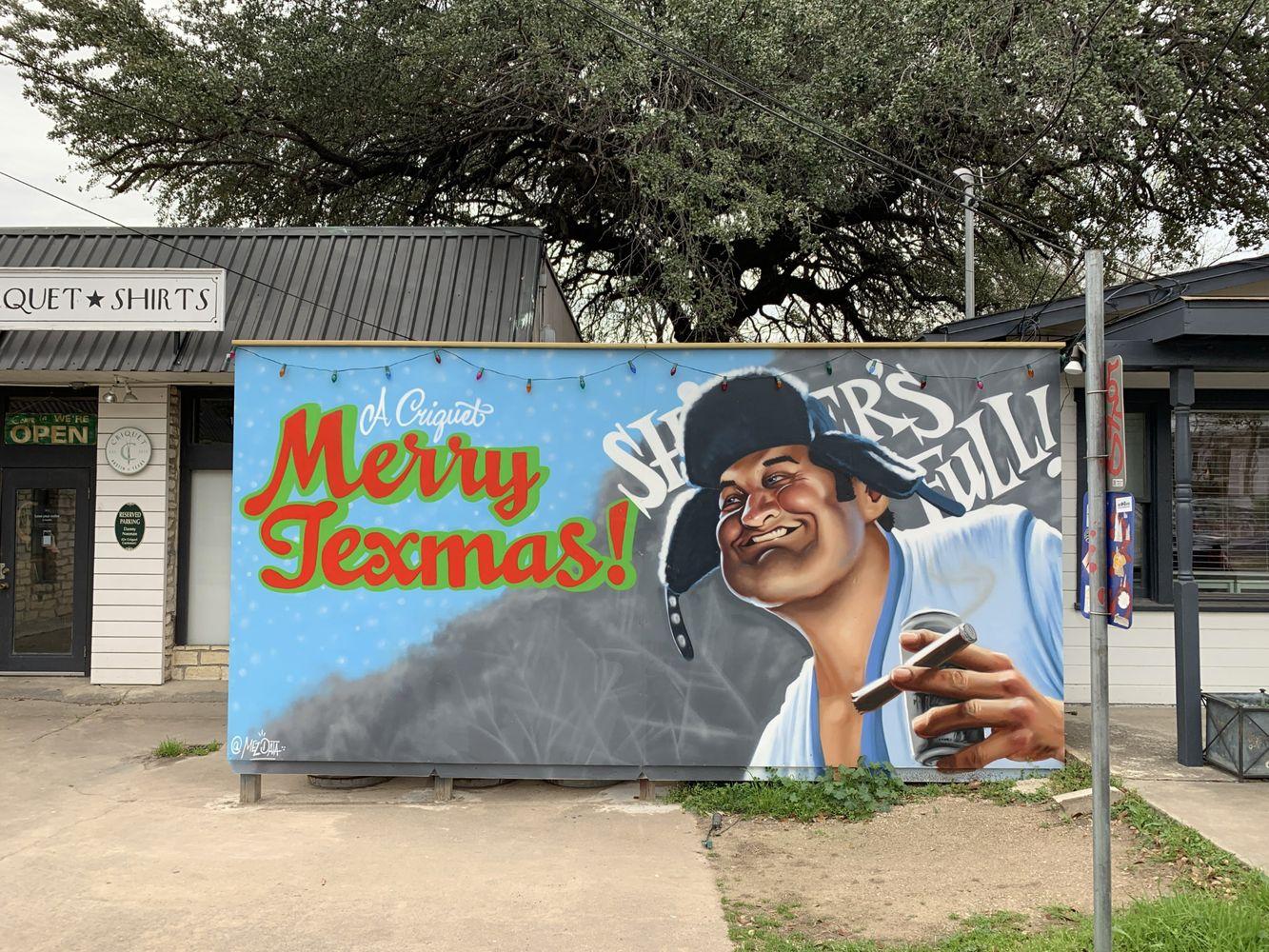 Merry Texmas Austin Murals