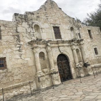 The Alamo in February, San Antonio, Texas