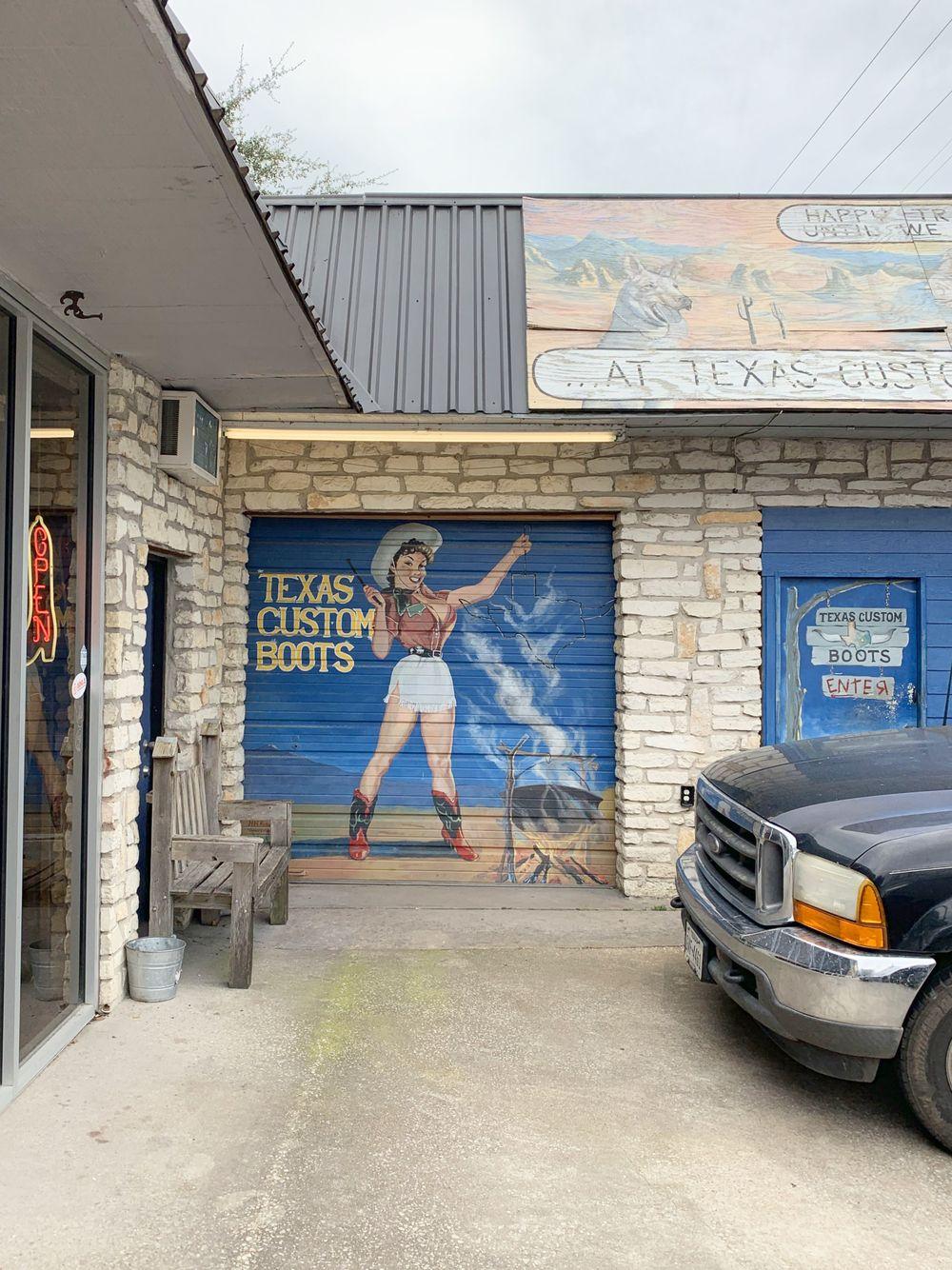 Texas Custom Boots Austin Murals