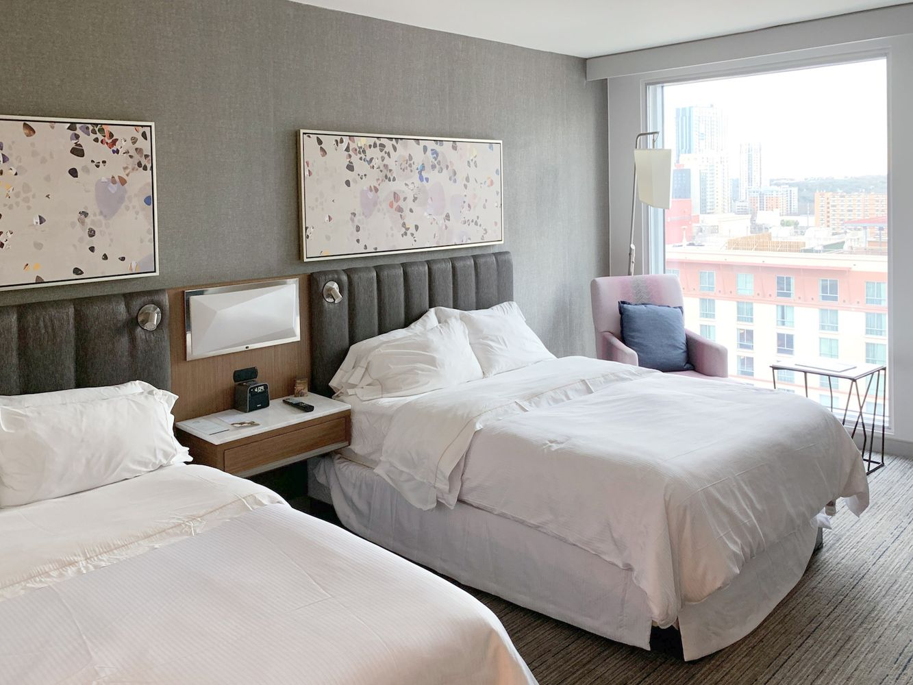 Westin Austin Downtown Hotel Beds
