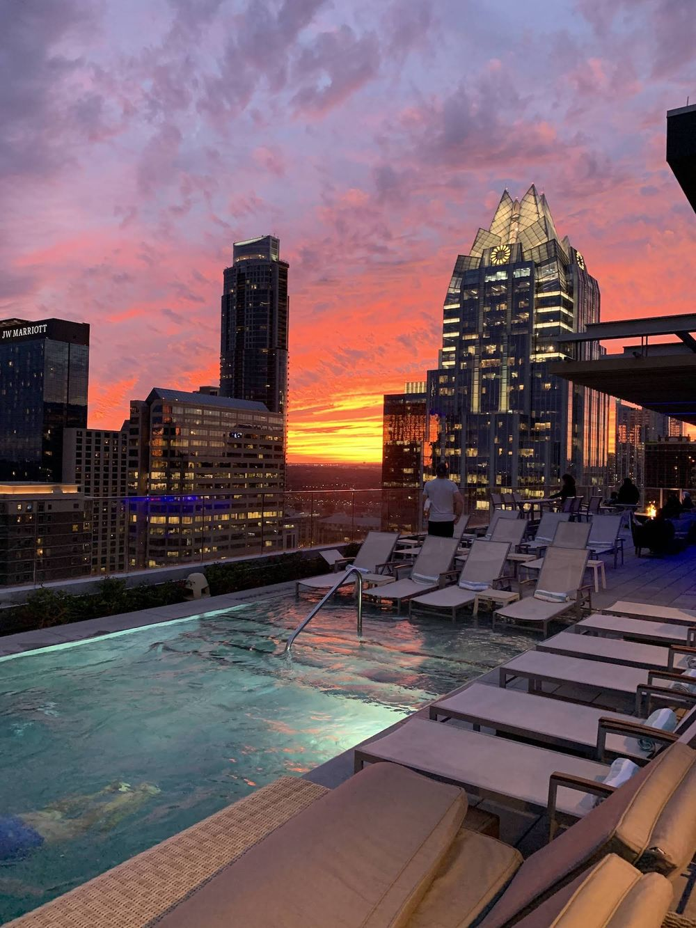 Westin Austin Downtown Hotel Rooftop Pool